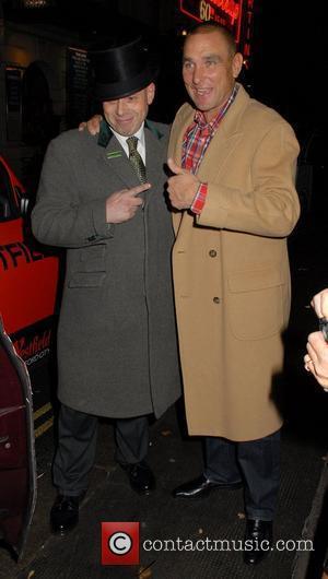 Vinnie Jones,  at the Ivy restaurant. London, England - 24.11.11