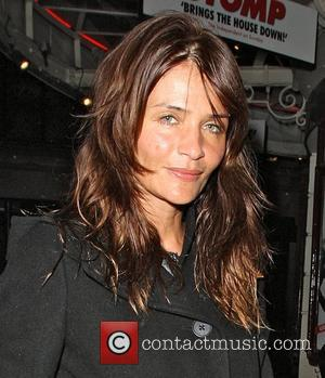 Helena Christensen leaving the Ivy restaurant London, England - 29.03.11