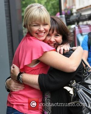 Kate Thornton and Coleen Nolan