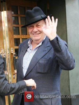 Barry Humphries Celebrities outside the Ivy restaurant London, England - 25.03.11