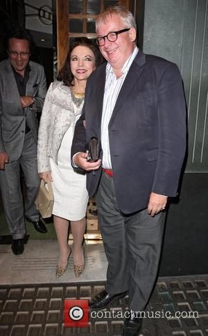 Joan Collins and Christopher Biggins