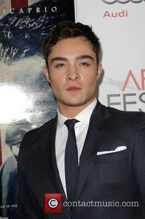 Ed Westwick and Grauman's Chinese Theatre