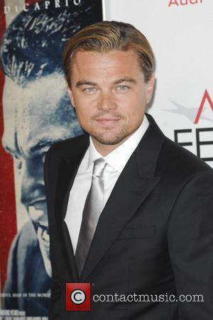 Leonardo Dicaprio and Grauman's Chinese Theatre