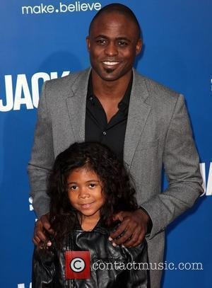 Wayne Brady and Maile Brady Los Angeles premiere of 'Jack And Jill' held at Regency Village Theatre Westwood, California -...