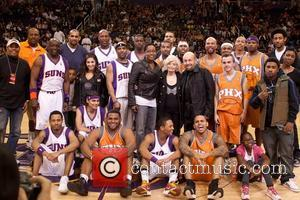 10th annual Jack-In-The-Box celebrity shootout at US AIrways center  Phoenix, Arizona - 29.01.11