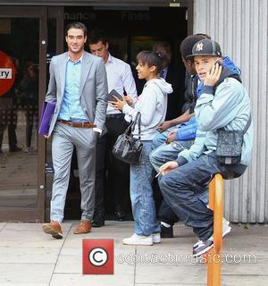 Jack Tweed and Lewis Tweed leaving Redbridge Magistrates Court after their sentencing for assault. Jack received 100 hours of community...