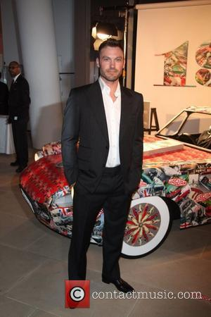 Brian Austin Green Celebration of Jaguar Design and the 50th Anniversary of the Jaguar E-Type at The IAC Building New...