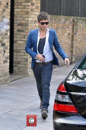 Jamie Hince leaving home London, England - 25.03.11