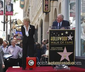 Jane Morgan and Jerry Weintraub Jane Morgan is honored with a 'star' on the Hollywood Walk of Fame Los Angeles,...