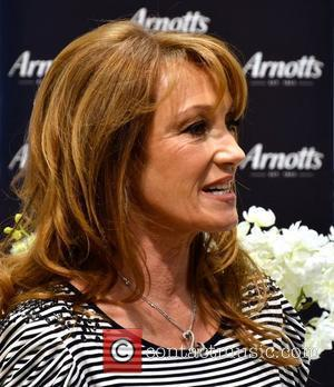 Jane Seymour  unveils the Country Casuals collection at Arnotts. She also launched her son Johnny Keach's band 'Plead The...