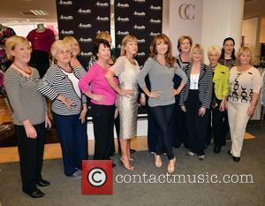 Jane Seymour with Arnotts staff Jane Seymour unveils the Country Casuals collection at Arnotts. She also launched her son Johnny...