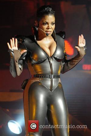 Janet Jackson   performing on her 'Number Ones Up Close and Personal Tour' at the Sony Centre for the...