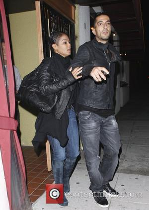 Janet Jackson and her boyfriend Wissam Al Mana leaving Matsuhisa restaurant in Beverly Hills  Los Angeles, California, USA -...