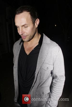 Jason Gardiner sporting his new hair transplant  as he leaves an after party for the launch of 'Ideas', the...