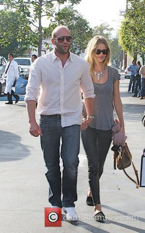 Jason Statham and Rosie Huntington-Whiteley head to Fred Segal for lunch West Hollywood, Los Angeles - 05.02.11