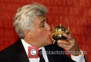 Jay Leno attends the awards ceremony in his honour as Harvard University's Hasty Pudding Theatricals 'Man of the Year' Cambridge,...