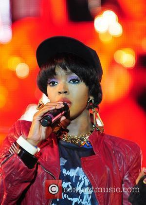Lauryn Hill performs at and headlines the 6th Annual Jazz In The Gardens at the Sun Life Stadium Miami, Florida...
