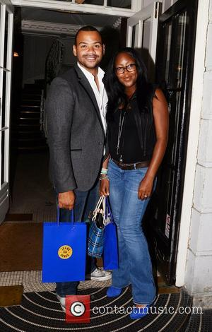 Angellica Bell And Michael Underwood  Jeans for Genes launch party at Kettners - Departures London, England - 05.09.11