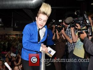 Jedward launch their new album 'Victory' at HMV Dundrum Many fans camped out the night before in order to meet...