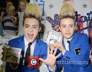 John Grimes and Edward Grimes aka Jedward launch their new album 'Victory' at HMV Dundrum Many fans camped out the...