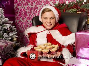 Jeff Brazier dresses up as Santa Claus at Argos Mum's Grotto, a pop-up grotto created by the retailer to treat...