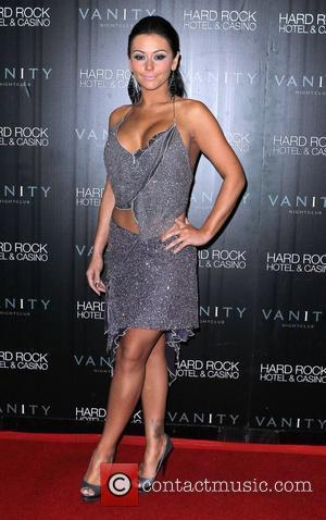 Jenni 'JWoww' Farley celebrates her birthday at Vanity nightlclub inside The Hard Rock Hotel and Casino Las Vegas, Nevada -...