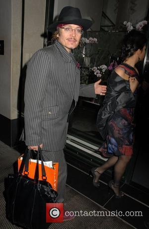Adam Ant,  at the Jennifer Hudson party held at The Ivy Club. London, England - 20.04.11