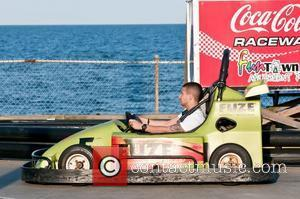 Vinny Guadagnino  'Jersey Shore' cast members are seen shooting on location in Seaside Heights  Seaside Heights, New Jersey...