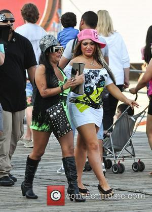 Nicole Polizzi and Jersey Shore