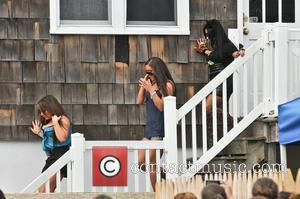 deena Cortese, Sammi Giancola, Nicole Polizzi  The cast of MTV's Jersey Shore returns to Seaside Heights after filming in...