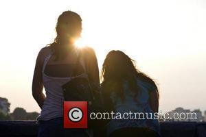 Jenni Farley aka JWoww and Deena Nicole Cortese 'Jersey Shore ' cast member JWoww pausing for a moment as she...