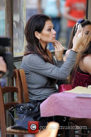Jennifer 'JWOWW' Farley, Deena Nicole Cortese, Sammi Giancola aka 'Sweetheart' The cast of 'Jersey Shore' enjoy a pasta lunch in...