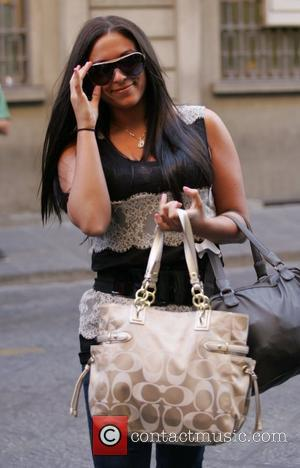 Sammi Giancola aka 'Sweetheart' 'The Jersey Shore' cast arrive at their town house in Florence to begin filming the fourth...