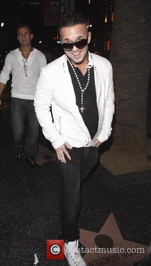 Mike Sorrentino aka 'The Situation' leaving Katsuya restaurant in Hollywood Los Angeles, California, USA - 13.02.11