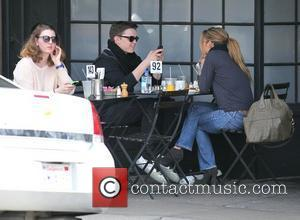 Singer Jesse McCartney having lunch at Joan's On Third with a companion. Los Angeles, California - 06.03.11