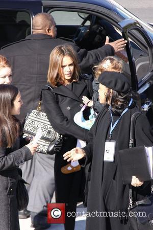 Jessica Alba and Michelle Obama