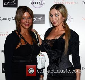 Jeanetta London and Sally Anne Jones Jewel Bar St.Pauls launch party London, England - 16.09.11