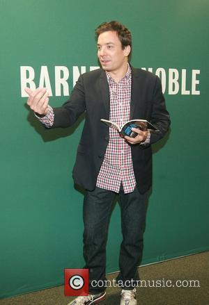 Jimmy Fallon at a book signing for his new book Thank You Notes at Barnes & Nobles New York City,...