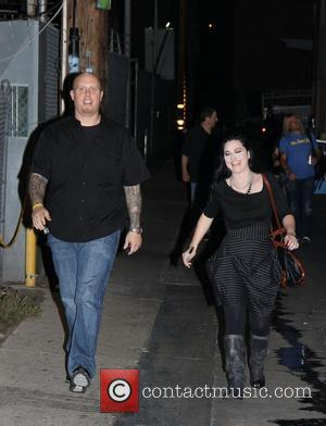 Amy Lee leaves the 'Jimmy Kimmel Live!' studios Los Angeles, California - 13.10.11