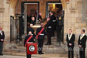 The funeral of Sir Jimmy Savile held at Leeds Cathedral Leeds, England - 09.11.11