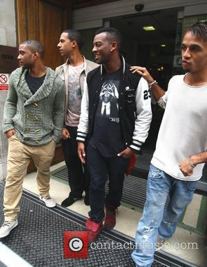 Jonathan Gill, Aston Merrygold and Jls