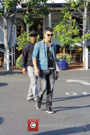 Joe Jonas and Fred Segal