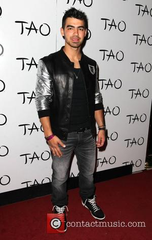 Joe Jonas hosts a Billboard Music Awards pre-party at TAO nightclub inside The Venetian Resort and Casino Las Vegas, Nevada...