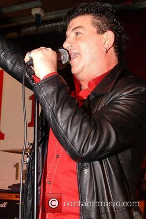 John Altman  performing with The Heavy Metal Kids at The 100 Club  London England - 03.03.11