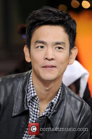 John Cho  appears on New.Music.Live to promote their upcoming movie 'A Very Harold & Kumar 3D Christmas'. Toronto, Canada...