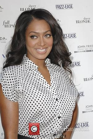 LaLa Anthony attends the 'John Frieda Salon Tour' event on Hollywood Boulevard Los Angeles, California - 24.06.11