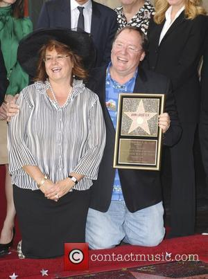 John Lasseter and Star On The Hollywood Walk Of Fame