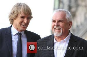 Owen Wilson, John Ratzenberger and Star On The Hollywood Walk Of Fame