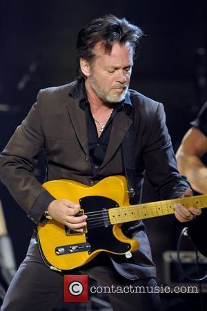 John Mellencamp performing during the 'No Better Than This Tour' at the Massey Hall. Toronto, Canada - 09.02.11