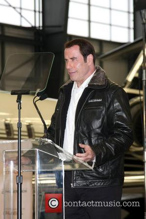 John Travolta and Burbank Airport